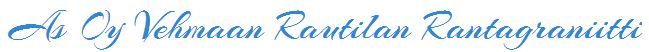 Vehmaan Rautilan Rantagraniitti - Logo