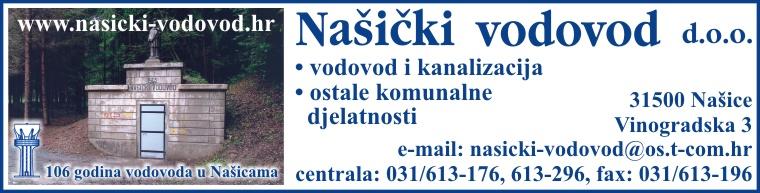 NAŠIČKI VODOVOD d.o.o.
