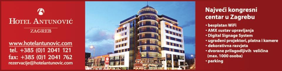 HOTEL ANTUNOVIĆ ZAGREB****