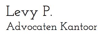 Advocaten - Levy P Cabinet d'Avocats - 1