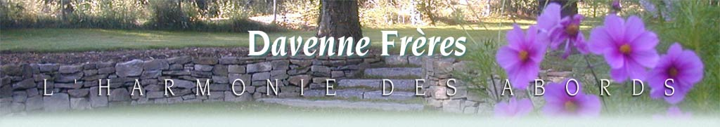 Jardins (Aménagement & Entretien de) - Davenne Frères - 1