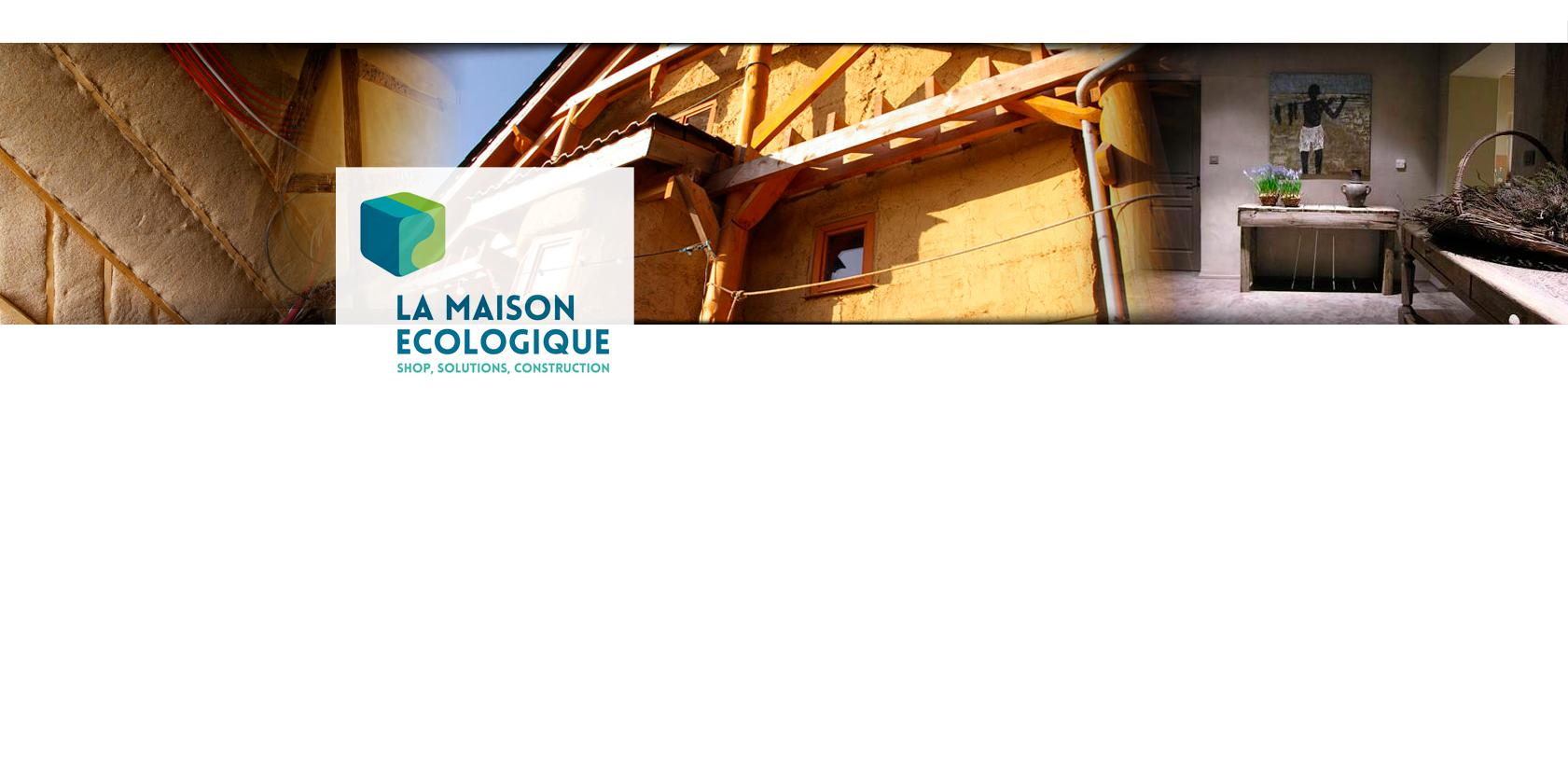 La maison ecologique sprl namur t l 081435 mat riaux de const - Materiaux construction maison ...