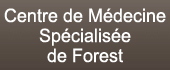 Logo CENTRE DE MED SPEC DE FOREST