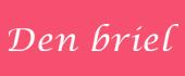 Logo DEN BRIEL