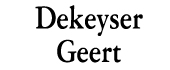 Logo Dekeyser Boomverzorger