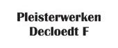 Logo Pleisterwerken Decloedt F