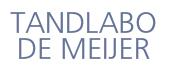 Logo Tandlabo de Meijer