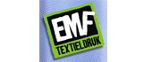 Logo E M F Textieldruk