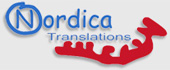 Logo Nordica Translations (scandinavian languages)