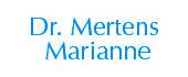 Logo Mertens Marianne Dr.