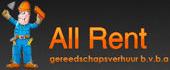 Logo All-Rent Gereedschapsverhuur