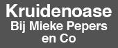 "Logo Kruidenoase ""Bij Mieke Pepers en Co"""