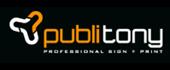 Logo Publi Tony