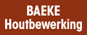 Logo Baeke Houtbewerking