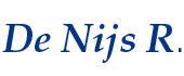 Logo De Nijs R