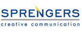 Logo Sprengers Communicatiebureau