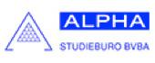 Logo Alpha-Studieburo Landmeetkundig-Milieu-Ingenieursburo