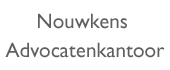 Logo Advocatenkantoor Nouwkens