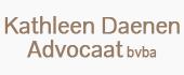 Logo Kathleen Daenen Advocaat bvba