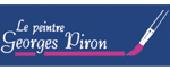 Logo Georges Piron Le peintre