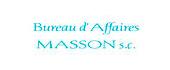 Logo Bureau d'Affaires Masson S
