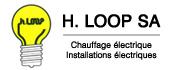 Logo H. Loop représentée par Frédéric Bodart