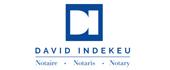Logo Indekeu David, Notaire