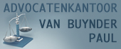 Logo Advocaten Kantoor Paul Van Buynder