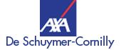 Logo Axa Bank & Verzekeringen Kantoor De Schuymer-Cornilly