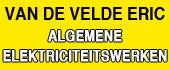 Logo Alg. elektriciteitswerken Van De Velde Eric Gent Elektriciens - Installateurs