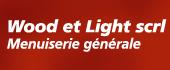 Logo Wood et Light Menuisier Charpentier Toiture isolation