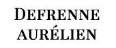 Logo Defrenne Aurelien