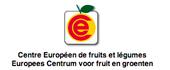 Logo Europees Centrum voor fruit en groenten