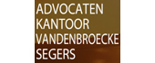 Logo Advocatenkantoor Van Den Broecke - Segers