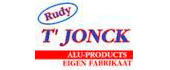 Logo Alu-Products bvba T'jonck Rudy