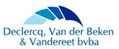 Logo Declercq, Van der Beken & Vandereet