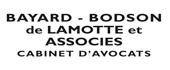 Logo Bayard-Bodson-de Lamotte-Toussaint Cabinet d'Avocats