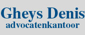 Logo Gheys Denis Advocatenkantoor