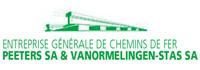 Logo ALGEMENE ONDERNEMINGEN SPOORWERKEN PEETERS NV & VANORMELINGEN-STAS NV