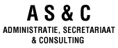 Logo A S & C Administratie, Secretariaat & Consulting