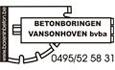 Logo Betonboringen Vansonhoven bvba