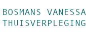 Logo Bosmans Vanessa