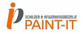 Logo Schilder- en afwerkingsbedrijf PAINT-IT
