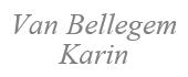 Logo Van Bellegem Karin