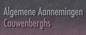 Logo Algemene Aannemingen Cauwenberghs