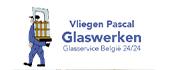 Logo Glasservice België 24/24 - Glaswerken Vliegen Pascal