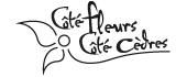 Logo Coté Fleurs Coté Cèdres