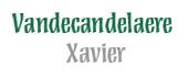 Logo Vandecandelaere Xavier