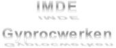 Logo IMDE - Gyprocwerken