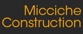 Logo Micciche Construction